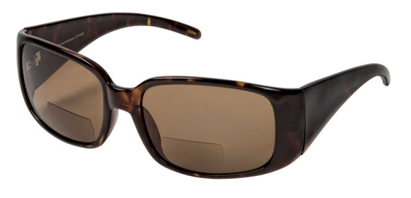 Chap'el R504 Brown Lens Bi-Focal Sunglasses