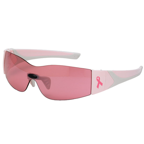 Chap'el Breast Cancer Awareness Pink Lady Sunglasses with Pink Lenses