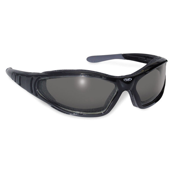 Global Vision Eyewear Ultra 24 Black Photochromic Sunglasses