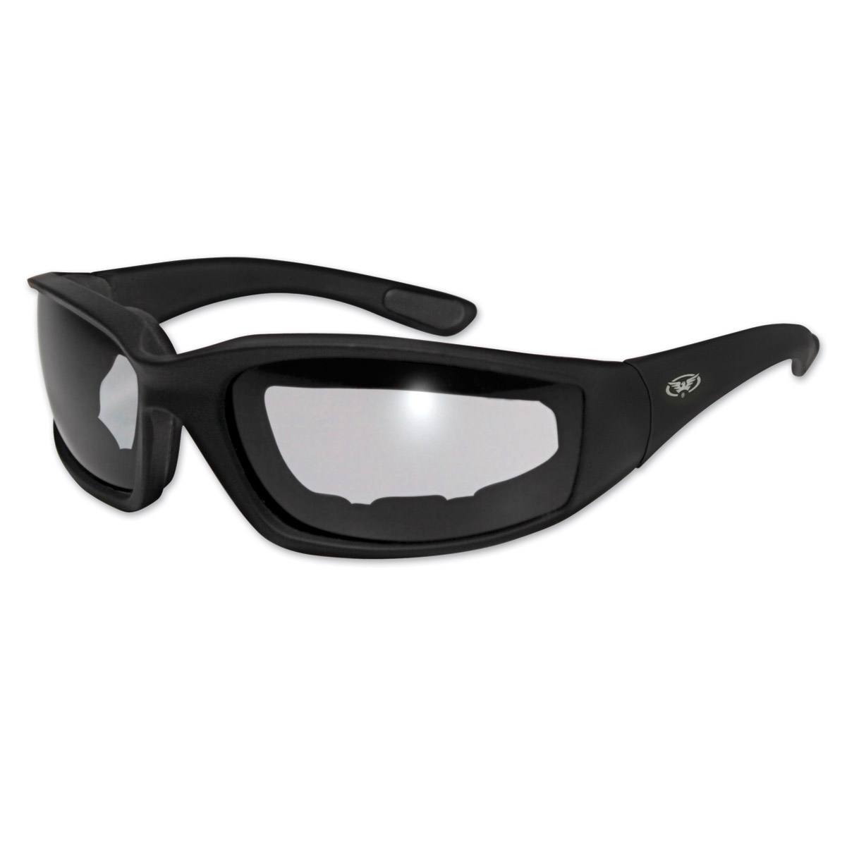 Global Vision Eyewear Kickback 24 Black Photochromic Sunglasses
