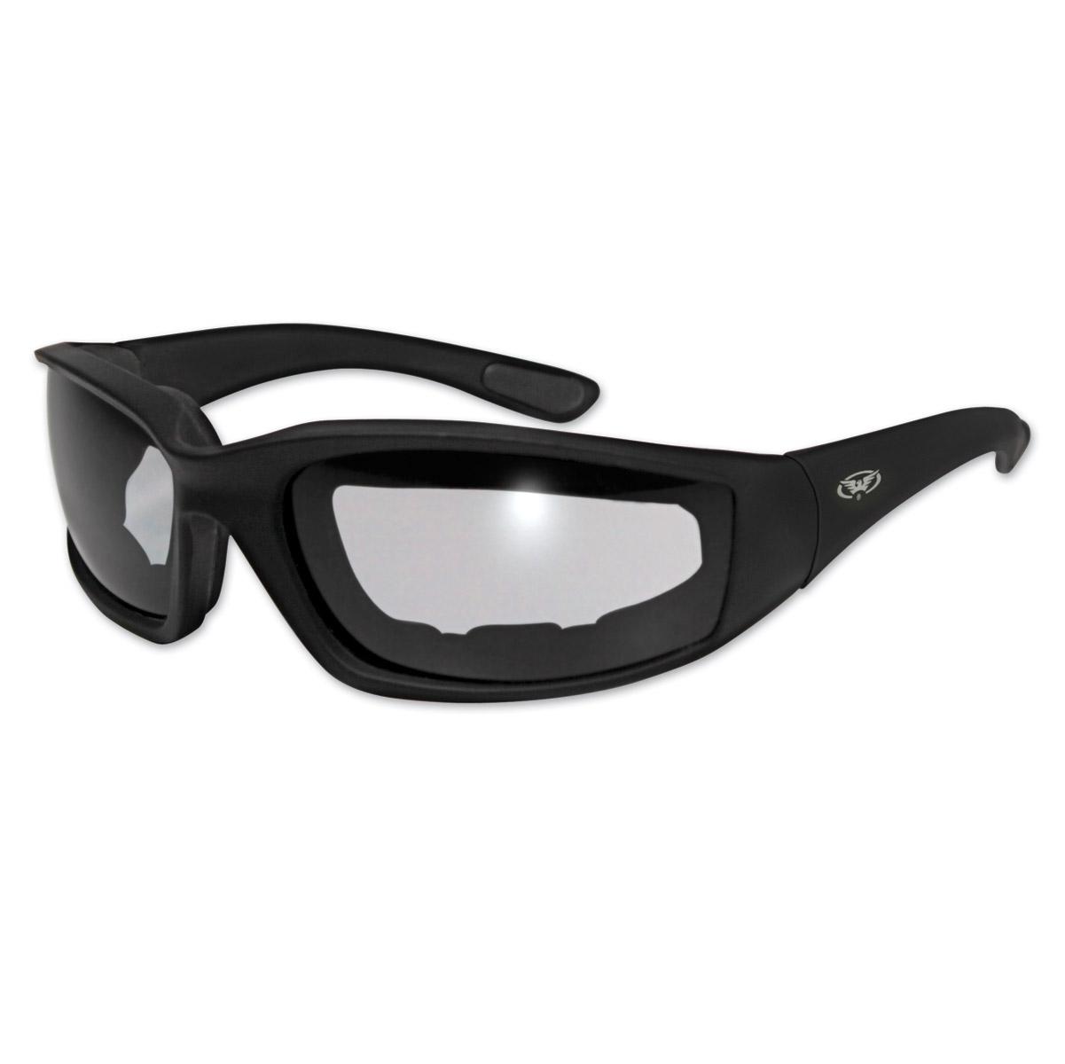 Global Vision Eyewear Kickback Smoke Photochromic Sunglasses