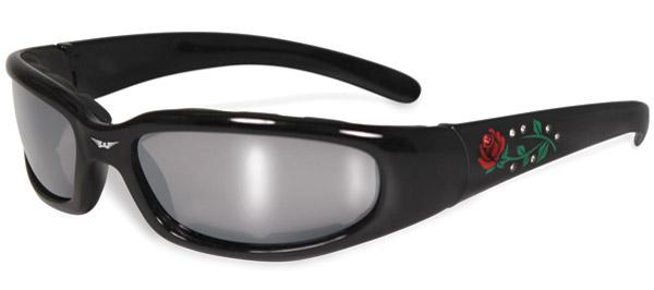 Global Vision Eyewear Chicago Rose Flash-Mirrored Sunglasses