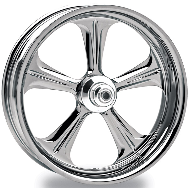 Performance Machine Wrath Chrome Front Wheel, 18