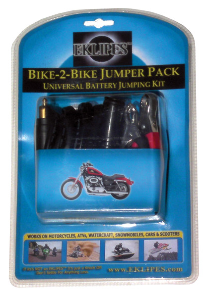 Eklipes Universal Bike-2-Bike Battery Jumping Kit