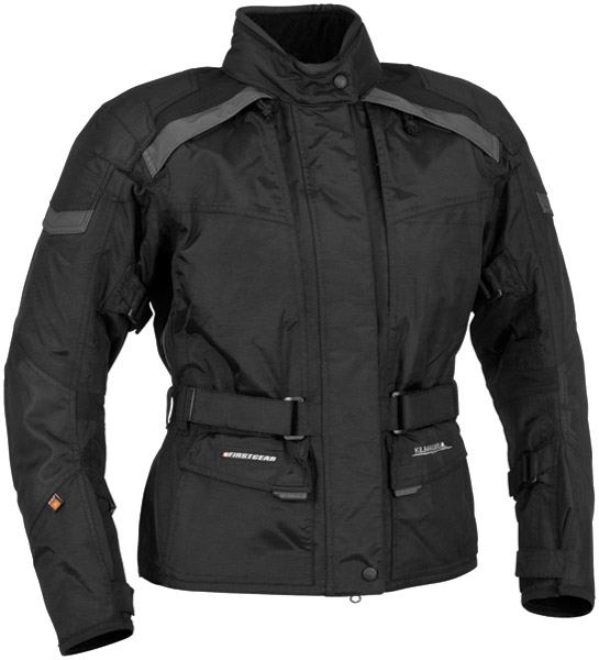 Firstgear Women's Kilimanjaro Black Textile Jacket