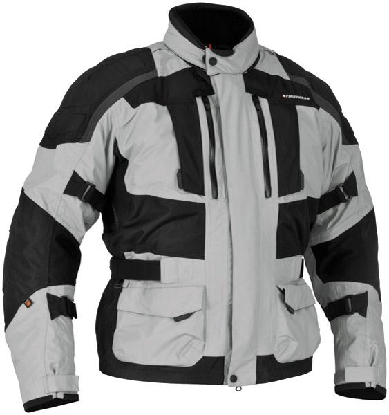 Firstgear Men's Kathmandu Black with Dark Gray Jacket