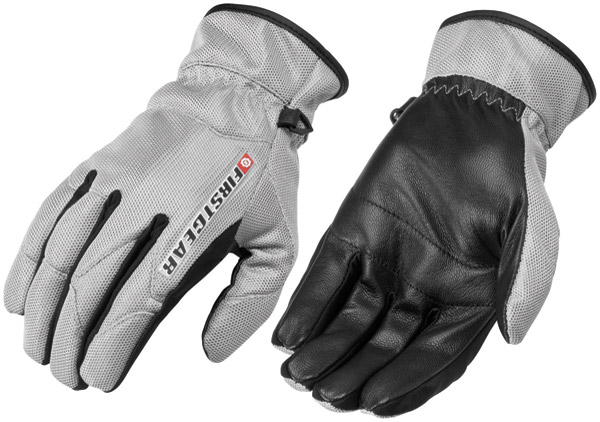 Firstgear Men's Silver Ultra Mesh Gloves