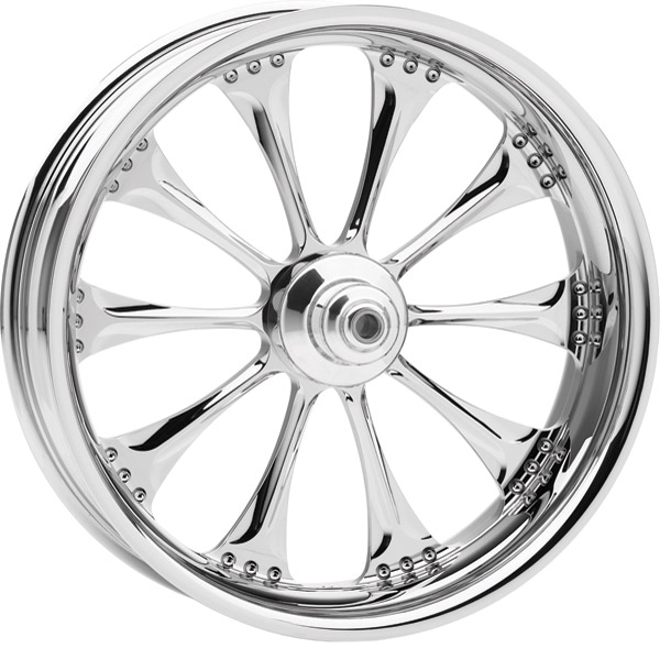 Performance Machine Hooligan Chrome Front Wheel, 21