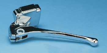 J&P Cycles® Polished Clutch Lever Assembly