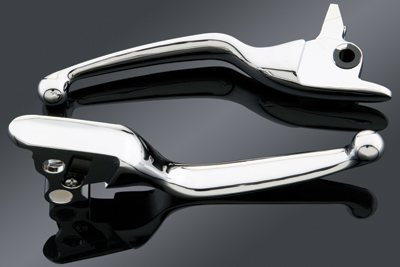 J&P Cycles® Ergonomic Smooth Wide Lever Blades