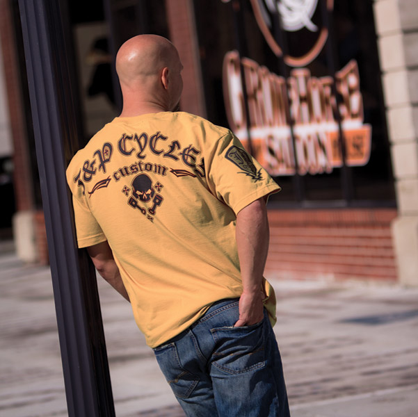 J&P Cycles® Custom Yuro Mustard T-Shirt