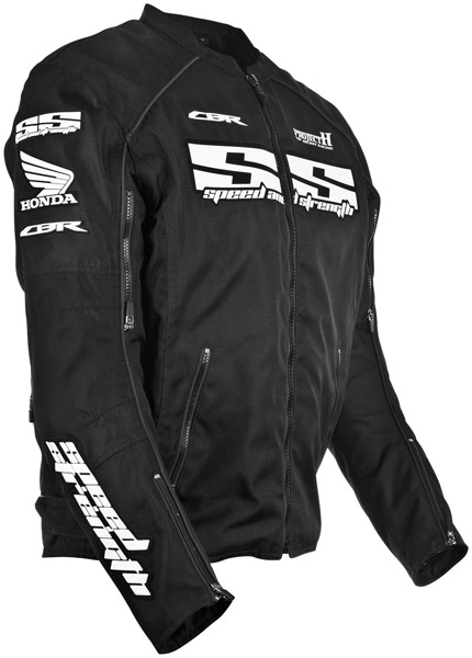 Speed and Strength CBR Project H Black Textile Jacket