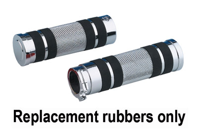 Arlen Ness Replacement Rubber for Knurled and Flatband Grips