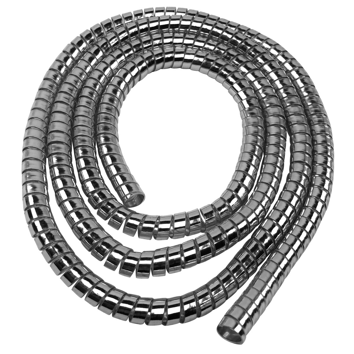 J&P Cycles® Chrome Cable Covering, 5′ x 5/16″ diameter