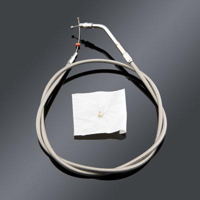 Barnett Performance Products +6″ Stainless Steel Throttle Cable