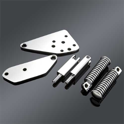 V-Twin Manufacturing Chrome Highway Bar Kit