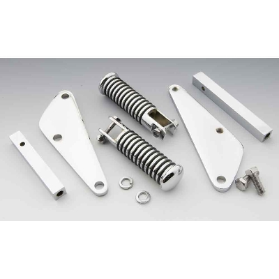 V-Twin Manufacturing Chrome Motormount Highway Pegs