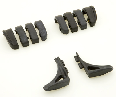 Kuryakyn Replacement Rubber Pads for Switchblade Pegs