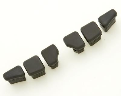 Kuryakyn Stiletto Style Replacement Rubber Pads