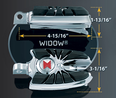 Kuryakyn Widow Pegs
