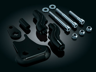Kuryakyn Passenger Floorboard Mounts for Softail Deluxe
