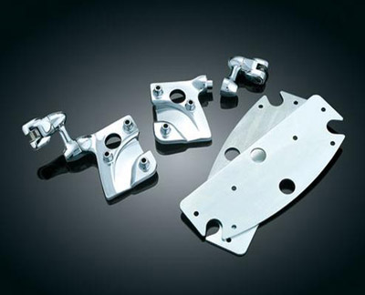 Kuryakyn Adjustable Cruise Peg Mounts for Floorboards