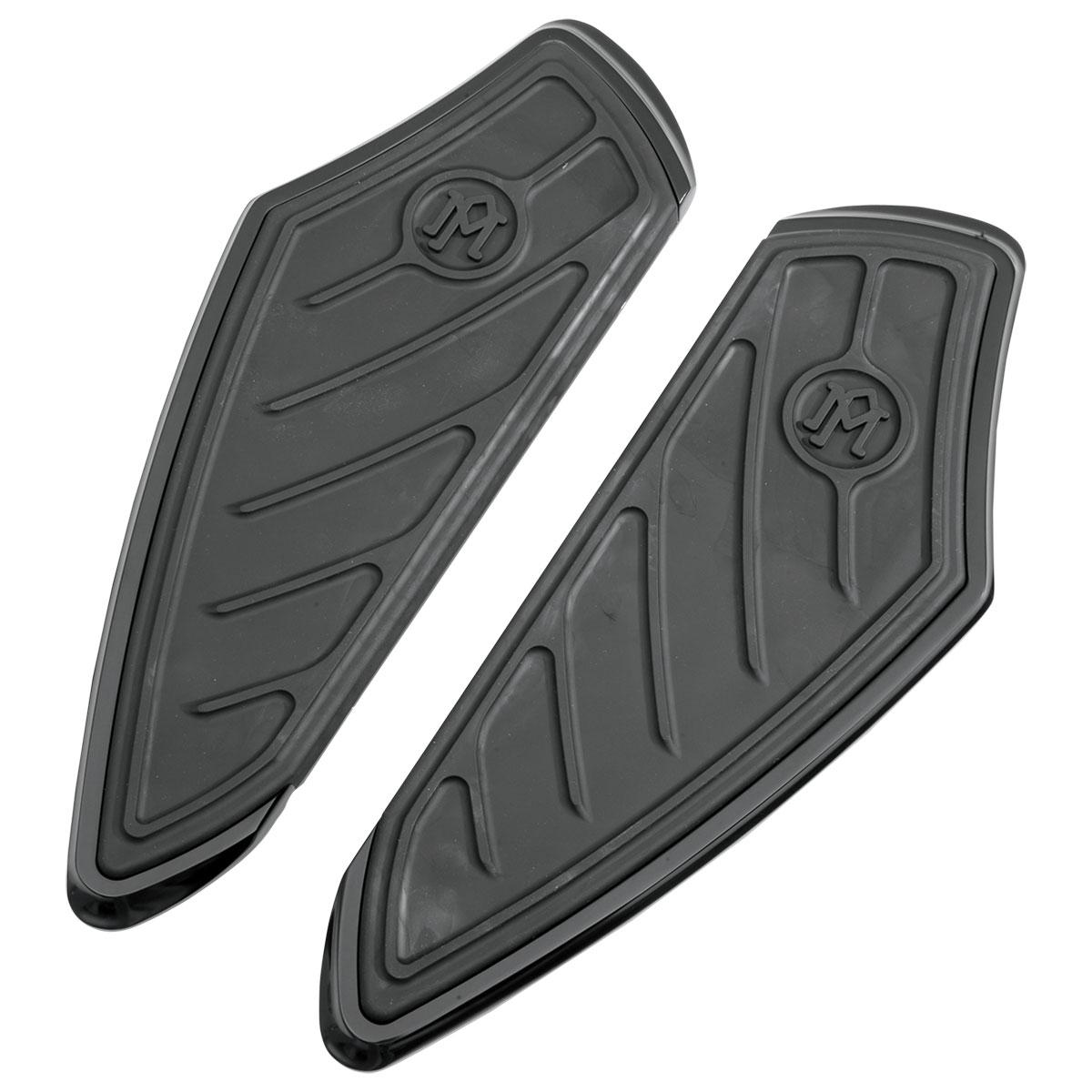 Performance Machine Black Ano Contour Driver Floorboards