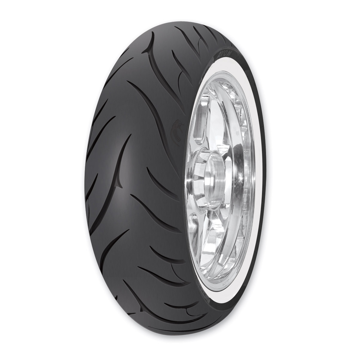 Avon AV72 Cobra MT90-16 Wide Whitewall Rear Tire