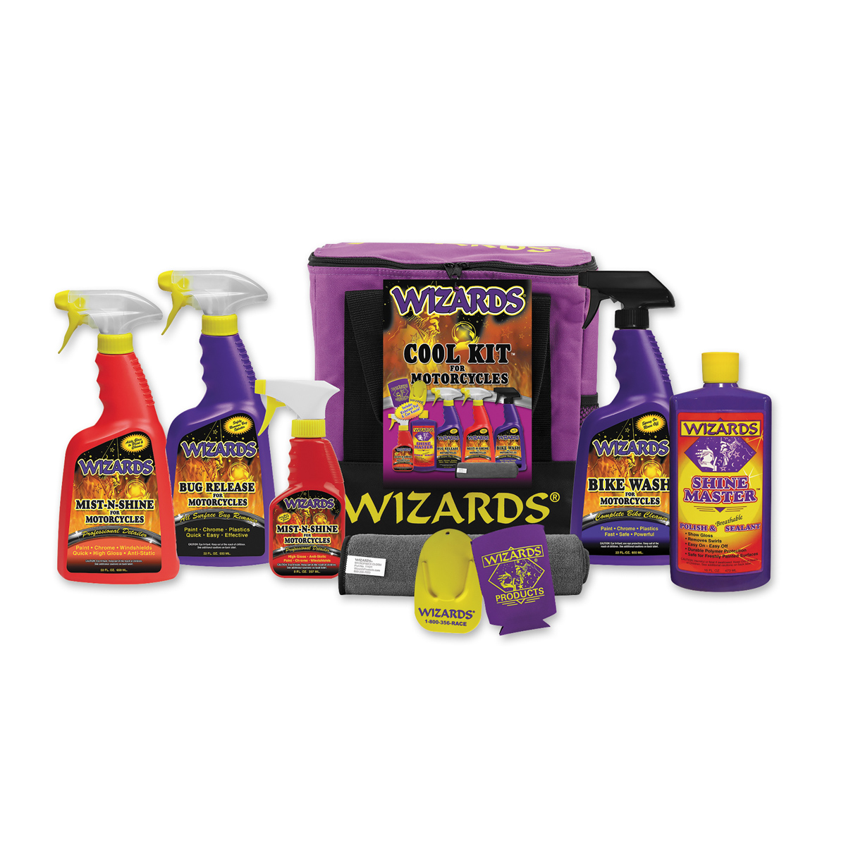Wizards Cool Kit for Motorcycles