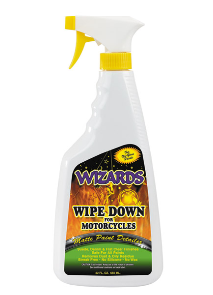 Wizards Wipe Down Matte Paint Detailer 22 oz. Bottle