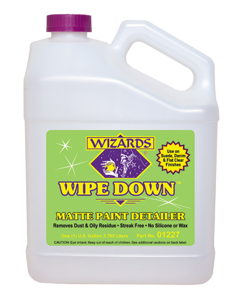 Wizards 1 Gallon Wipe Down Matte Paint Detailer