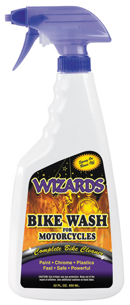 Wizards Bike Wash 22 oz. Spray Bottle