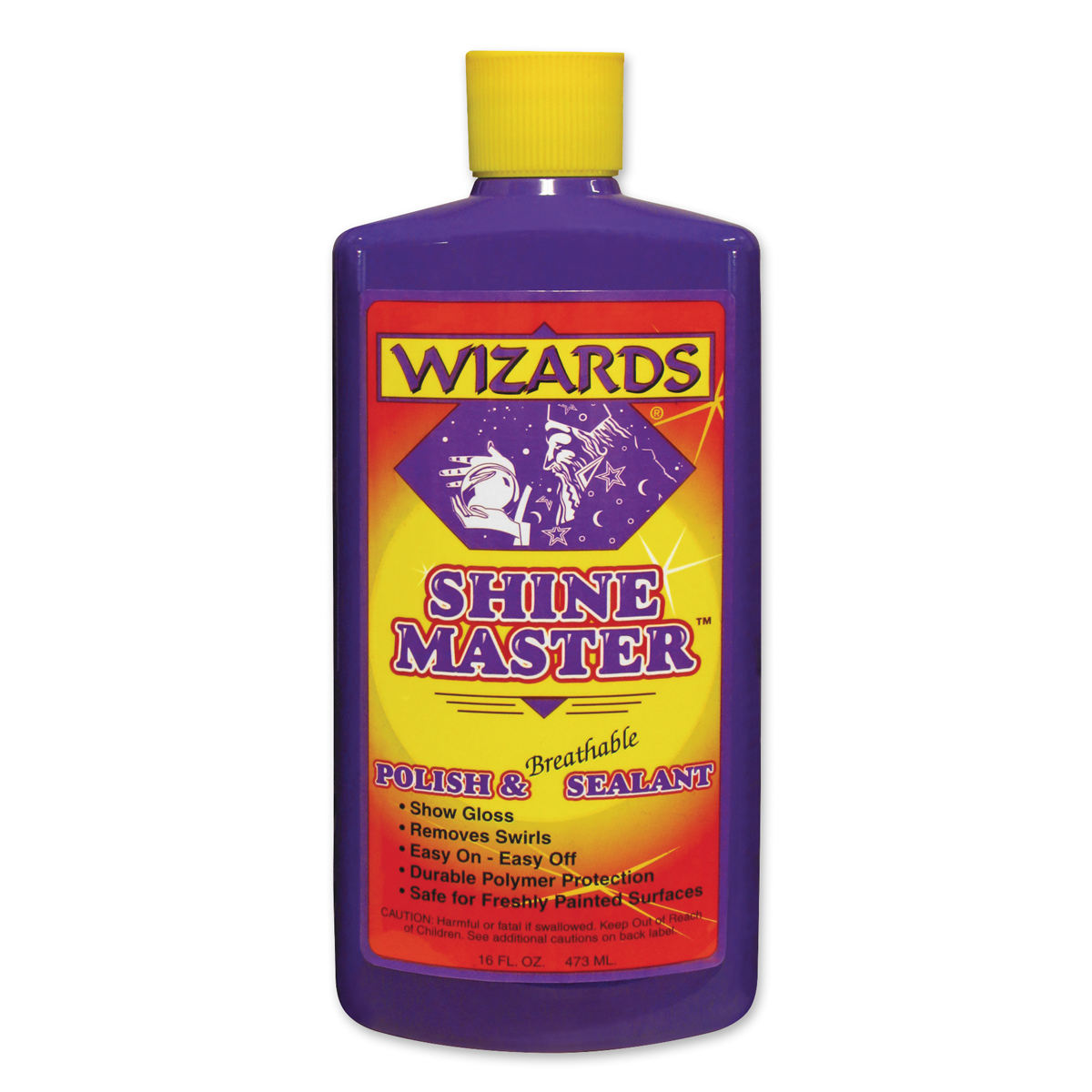 Wizards Shine Master Polish and Breathable Sealant 16 oz.