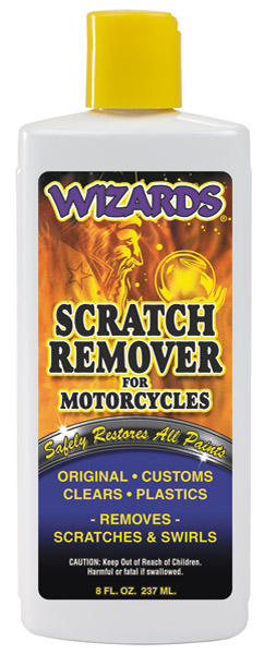 Wizards Scratch Remover Prewax Cleaner 8 oz. Bottle