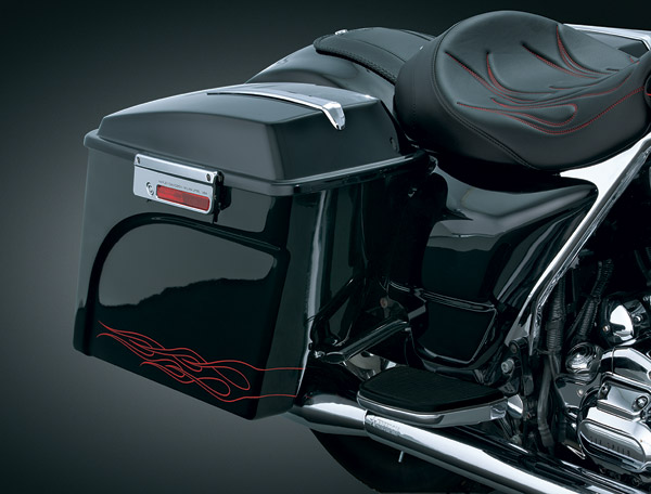 Fairing Factory LLC. OEM Saddlebags with Lids