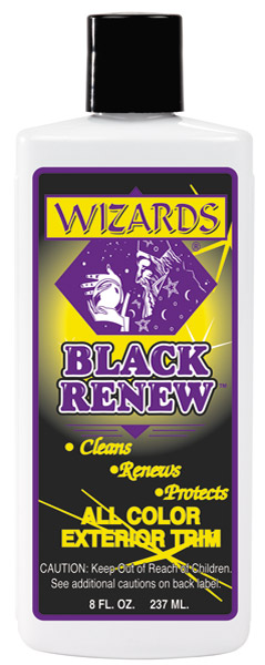 Wizards Black Renew Exterior Treatment 8 oz. Bottle