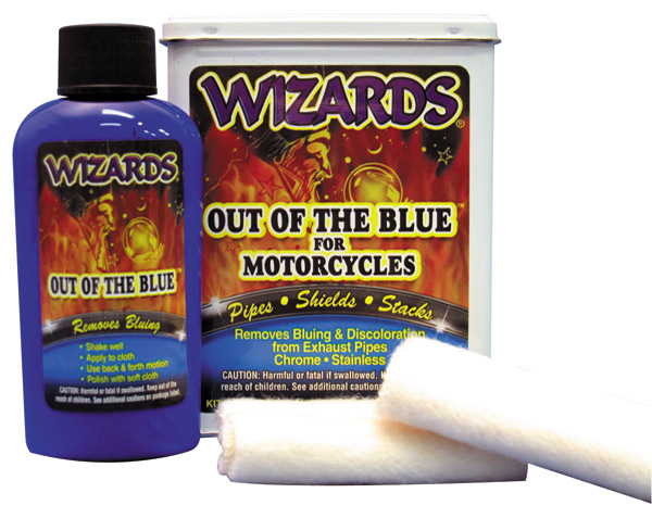 Wizards Out of the Blue Exhaust Bluing Remover Kit