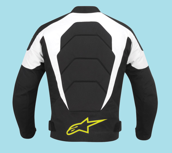 Alpinestars T-GP Plus Air Black, White, and Yellow Fluo Textile Jacket