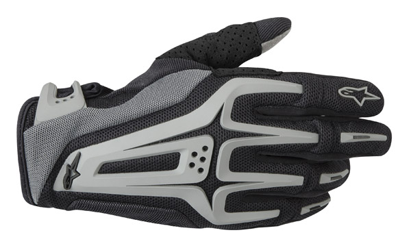 Alpinestars Dual Black and Cool Gray Gloves