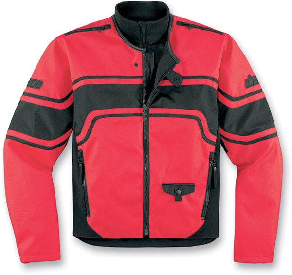 ICON Brawnson Red Jacket