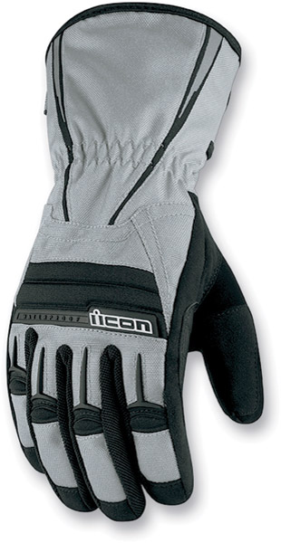 ICON PDX Waterproof Gray Gloves