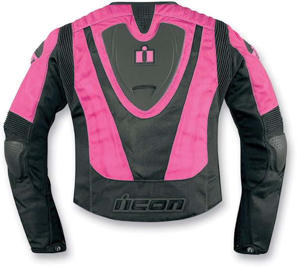 ICON Overlord Type 1 Pink Women's Jacket