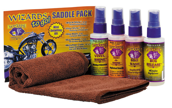 Wizards Saddle Pack for Motorcycles