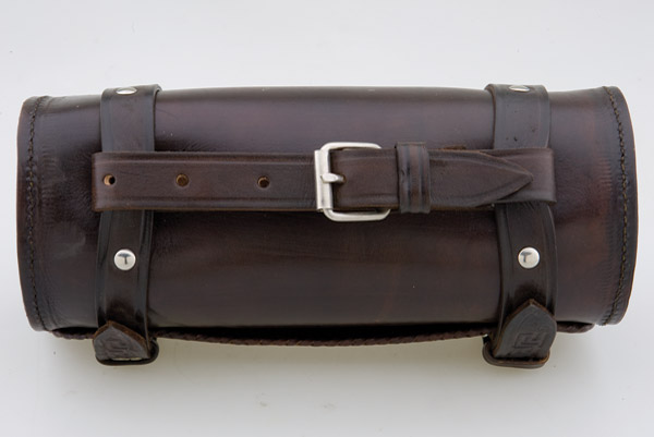 Convict Custom Cycles Brown Leather Hand Made Tool Bag