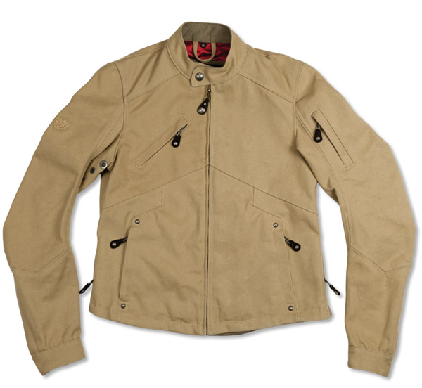 Roland Sands Design Lazy Boy Khaki Duck Canvas Jacket