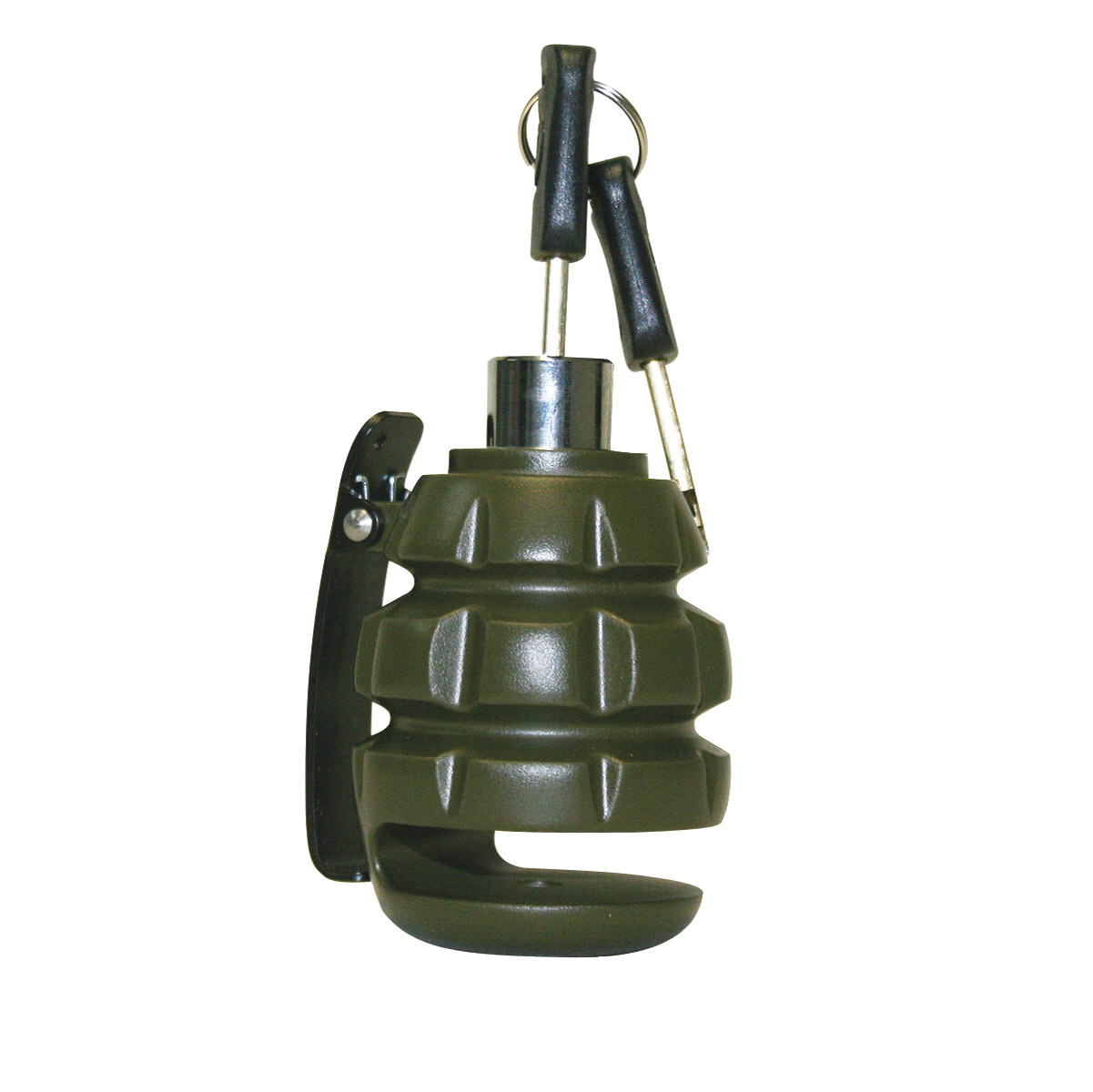 Deemeed Army Green Grenade Disc Lock