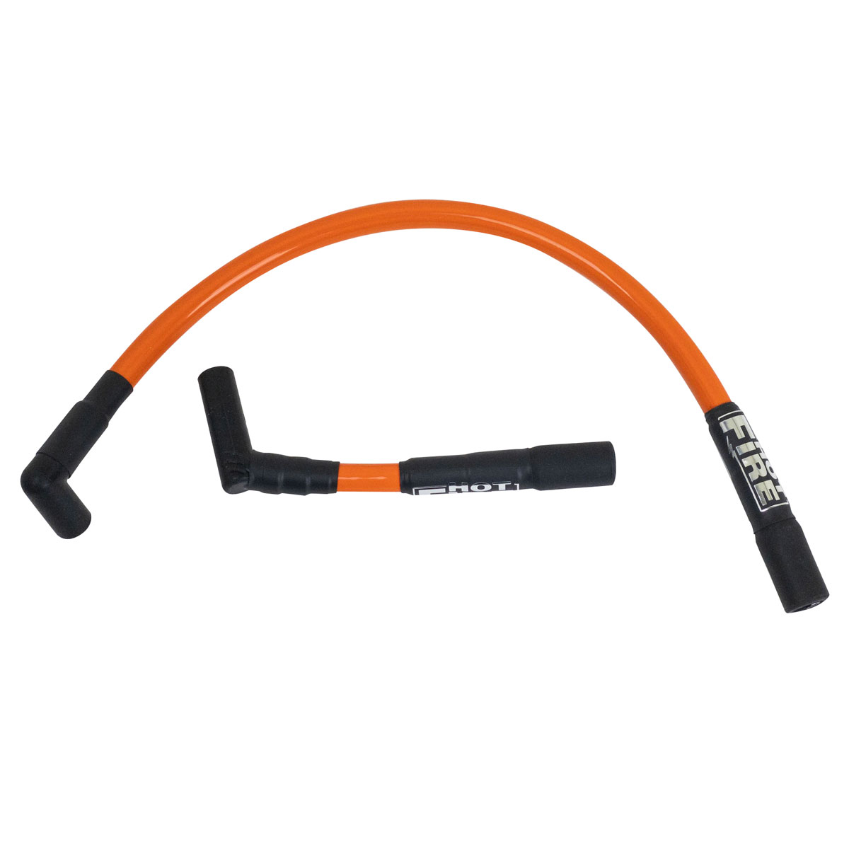 Hot fire spark plug wires orange for twin cam softail