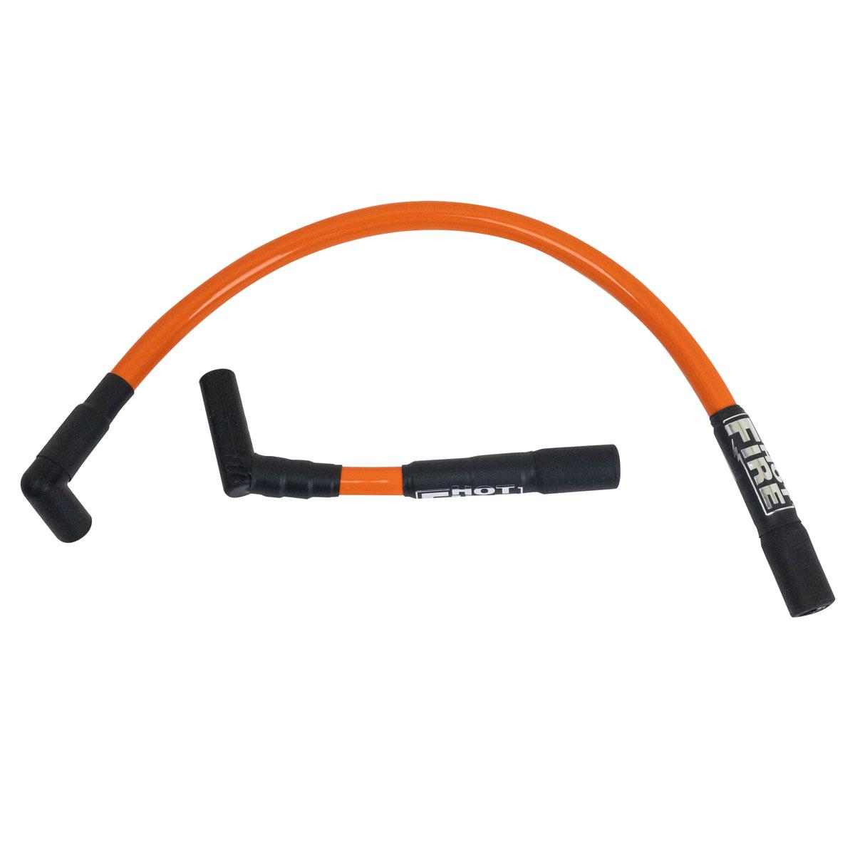 Hot Fire Orange Spark Plug Wire Set - SPC1ORANGE Harley Plug Wires on