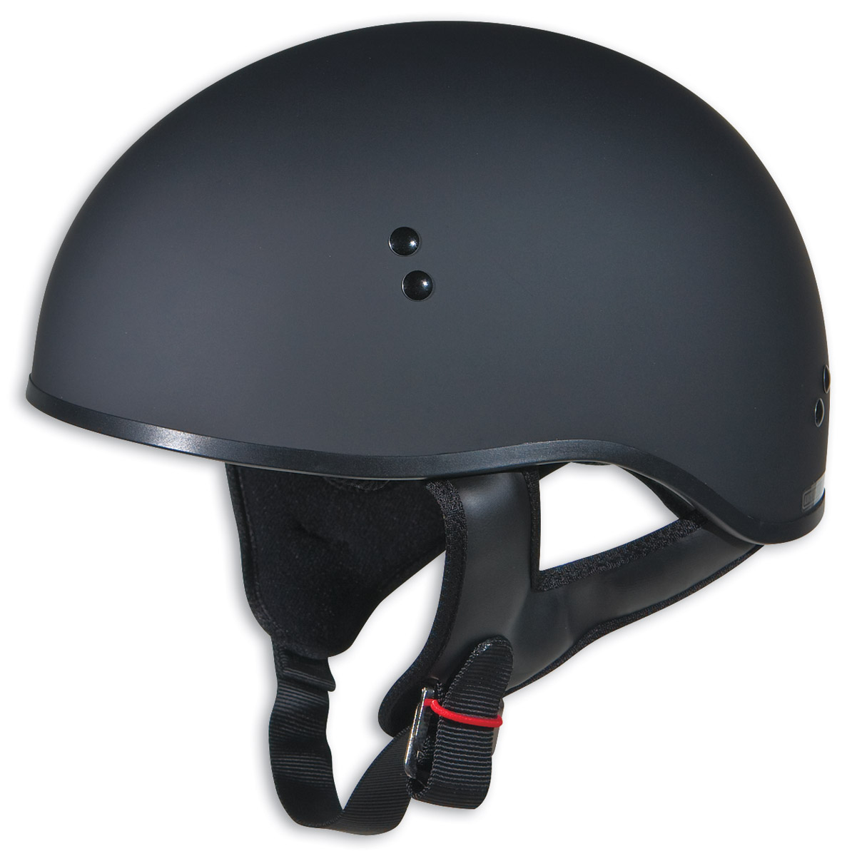 GMAX GM45 Naked Flat Black Half Helmet