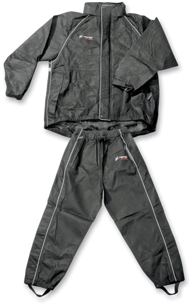 Frogg Toggs Women's Black Cruisin Toggs Rainsuit